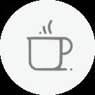 Café e chá à vontade